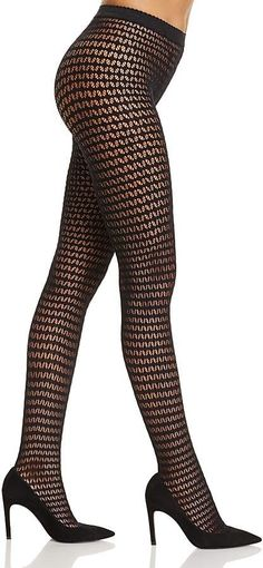 4a396c5f77eb5 Wolford Mesh Tights Stockings Lingerie, Stockings Heels, Black Pantyhose,  Nylons, Wolford,