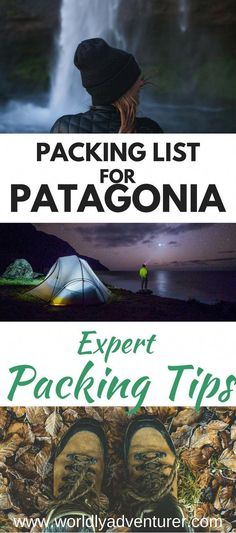 What essentials must you pack for a trip to Patagonia? I've got all the answers with my Patagonia packing list, ideal for those looking for an adventure in the southernmost part of Chile and Argentina. Backpacking South America, South America Travel, Ushuaia, Machu Picchu, Chili Travel, Patagonia Travel, Couple Travel, South America Destinations, Packing List For Travel