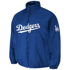 Majestic MLB Infants Los Angeles Angels Double Climate On Field Jacket