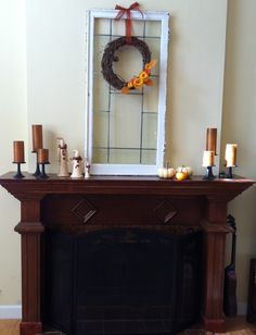 Great fall mantle display