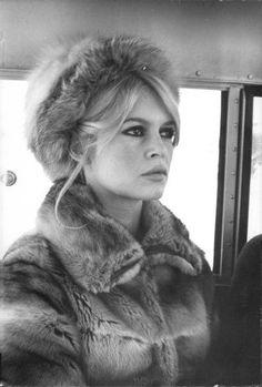 Brigitte Bardot en vrai fourrure ?