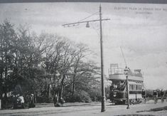 Woodford New Road Electric Tram 1905