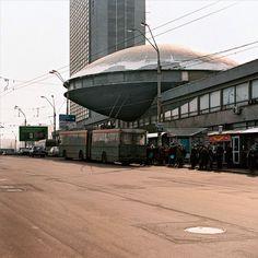 Joyas olvidadas de la arquitectura comunista . Instituto de Investigación y Desarrollo Científico y Tecnológico (Kiev, Ucrania)