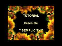 Tutorial bracciale Semplicity Micro Macramè - YouTube