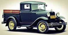 1931 Ford Model A 82-B Closed Cab Pickup....perfect....