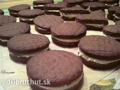 Fotorecept: OREO sušienky Czech Recipes, Christmas Cookies, Tiramisu, Ale, Sweets, Chocolate, Desserts, Xmas Cookies, Tailgate Desserts