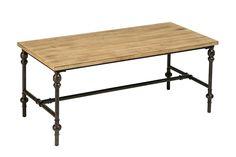 Premier Housewares Tribeca Coffee Table, Wood, 45 x 110 x 55 cm - Natural