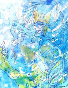 Fan Art, Sasuke, Under The Sea, Underwater, Manga Anime, Saints, Knights, Group, Saint Seiya