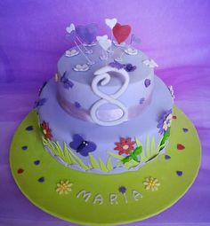 Birthday Cake for 8 year old by Dina@miettes. https://www.facebook.com/pages/miettes/257790597632317