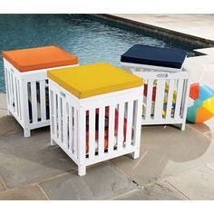 Poolside Storage Cube ThisNext