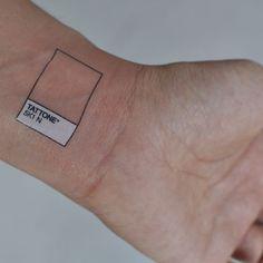 Pantone tattoos