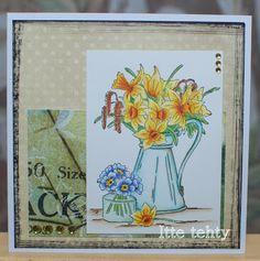 Itte tehty: Kannullinen kukkia