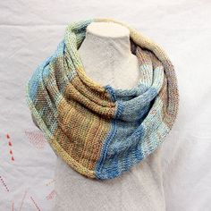 Cotton Infinity Scarf  chunky one of a kind by WrapturebyInese has been sold but I can custom make it for you.