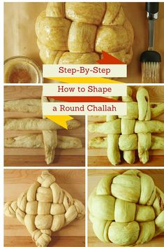 Step-By Step, How to Shape a Round Challah