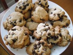 Gluten free, dairy free, low glycemic index chocolate chip cookies