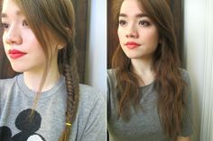 How To Get Wavy Hair Overnight, Broken Down By 4 Different Types Of Braids You Can Comfortably Sleep In | Bustle