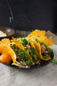 Vampire Tacos - totally a fan of these cheesy delicious tacos!