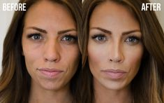 How to HAC (highlight and contour) your face