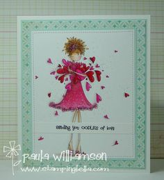 sending some LOVE by paulatracy - Cards and Paper Crafts at Splitcoaststampers