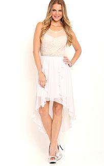 Junior High Low Dress   Deb Mobile