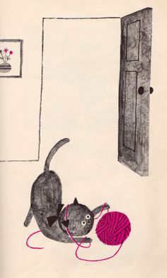 (via my vintage book collection (in blog form).: This is the House Where Jack Lives - illustrated by Aliki)