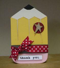 Teacher Thank You Card!!!