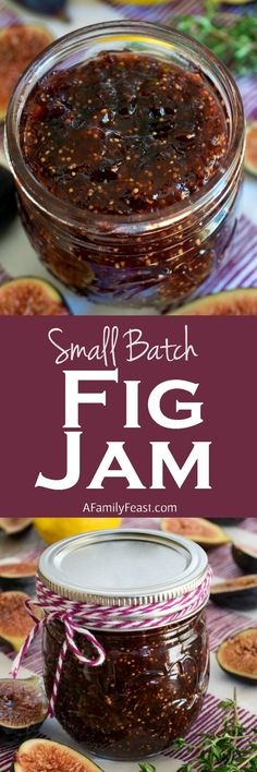 Batch Fig Jam This Small Batch Fig Jam recipe is easy and perfectly sweet. A wonderful way to cook with in-season figs.This Small Batch Fig Jam recipe is easy and perfectly sweet. A wonderful way to cook with in-season figs. Fig Recipes, Jelly Recipes, Canning Recipes, Coctails Recipes, Dishes Recipes, Summer Recipes, Cookie Recipes, Fig Jam Canning Recipe, Recipes With Figs