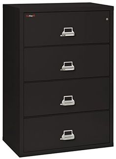 When you are protecting valuable documents you want the best. When it comes to fire protection, half as good is no good. It features four file drawers built with high sides for use with hanging folders and 1 follower block per drawer. 1 high-security UL listed key lock top drawer to control all... more details available at https://furniture.bestselleroutlets.com/home-office-furniture/file-cabinets/lateral-file-cabinets/product-review-for-fireking-fireproof-lateral-file-cabine