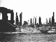 From the Archives: Church Street after the Great Fire of 1901.