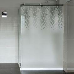 Design et contemporain, ce film occultant adhésif pour fenêtre se pose très facilement sur tous les vitrages.