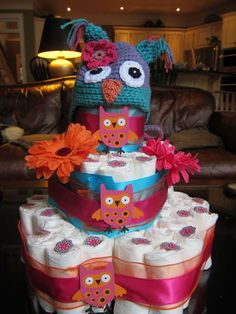 "Nell's ""Feather the Nest""  Baby Shower 