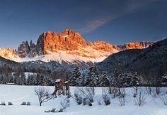 Rosengarten in Südtirol / Italien