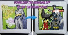 Aurasma augmented reality artwork comes to life using just your phone! Available in store now come and see us and ask for a demonstration! #aurasma #augmentedreality #hisdarkhumour #art #batman #frames #framing #framers #kettering #bedford #zanart #ezeframe #art #fineart #photography #painting #zanartezeframe #portraits #photos #oilpainting #canvas #watercolour