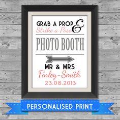 Photobooth sign - ebay