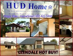 """#GlendaleFIXupHome - Great location - priced below market. #ArizonaHUD #HUDHomes 602-422-5444 Text:AZ220 to 32323 Find AZ Homes. Looking for a low priced value property or looking for a fix and flip property? Peggy Elias """"YourGlendaleRealtor"""""""