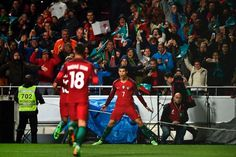 Cristiano is the only player to score with his right foot, left, head & from the penalty spot & from outside the box in WC2018 qualifiers