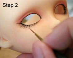 Dollicieux - The Ezine for Asian Style Ball and Joint Dolls, vol. Doll Face Paint, Doll Painting, Doll Crafts, Diy Doll, Ooak Dolls, Blythe Dolls, Sculpting Tutorials, Doll Makeup, Polymer Clay Dolls