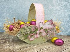 Easter Basket step-by-step tutorial - Heartfelt Creations