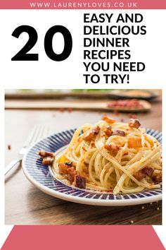 20 delicious dinner recipes you need to try. Read this and find 20 cheap dinner ideas to try tonight. Hearty and healthy dinner ideas that won't break the bank. For quick and easy dinner recipes you'll love click this and cook up something tasty! #dinnerrecipes #dinnerideas #easydinnerrecipes Cheap Easy Meals, Cheap Dinners, Easy Recipes, Healthy Recipes, Cooking For One, Delicious Dinner Recipes, Food To Make, Dinner Ideas, Good Food