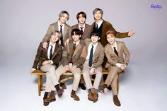 Bts Taehyung, Bts Bangtan Boy, Bts Jimin, Jungkook Cute, 8th Anniversary, La Girl, Bts Group Photos, Family Photos, Bts Group Picture