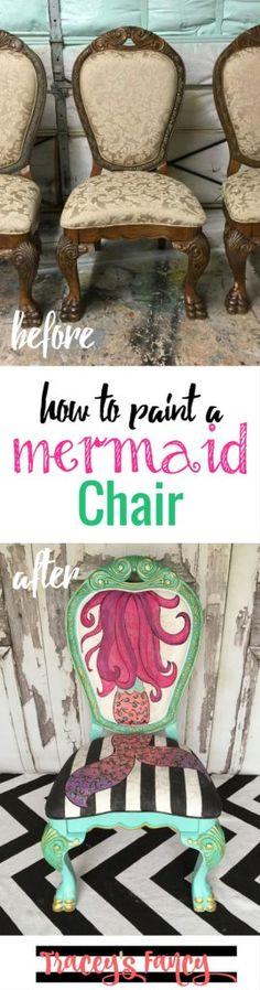 School of Mermaid Chairs | Tracey's Fancy