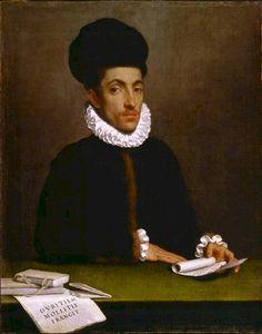 Venetian Province of Bergamo, The Republic of Venice Giovanni Battista Moroni, 1570-78: Portrait of a Man