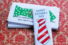 Great Ideas -- 12 Father's Day Printable Ideas!!