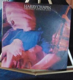 Harry Chapin 2 Lps Greatest Stories Live Near Mint #1970s