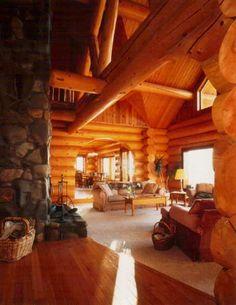 Log Cabin Home.