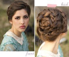 Hairstyle: Snail braid