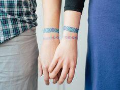 V-Day gift idea: Friendship Bracelet Tattoos!