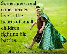 Real superheroes, ASD kids