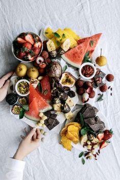Frozen Fruit & Nut Grazing Board | Gather & Feast