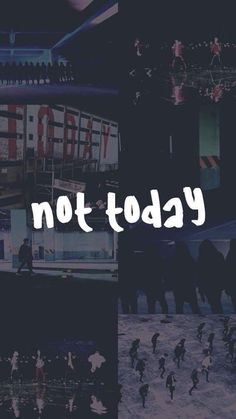 BTS Not Today ♡